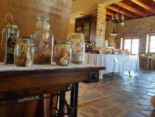 Hotel Ethaleia buffet area
